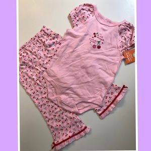 🌸Carter's🌸NWT Size 18months 2pc cute&comfy combo